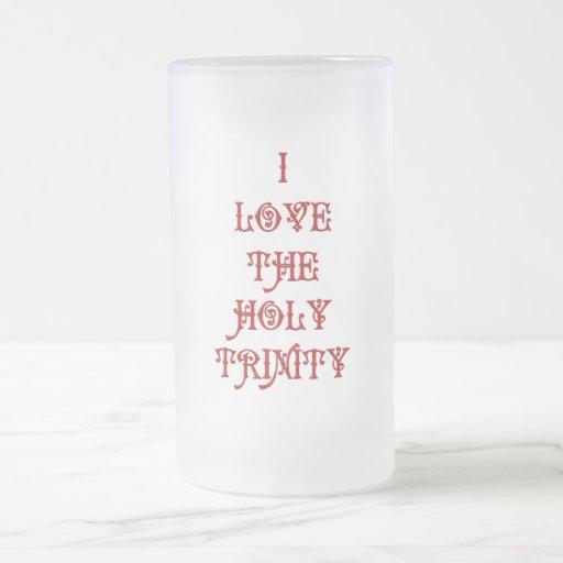 I love The Holy Trinity Coffee Mug