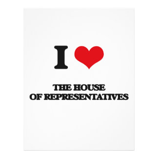I Love The House Of Representatives 21.5 Cm X 28 Cm Flyer