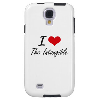 I love The Intangible Galaxy S4 Case