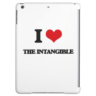 I Love The Intangible iPad Air Cover