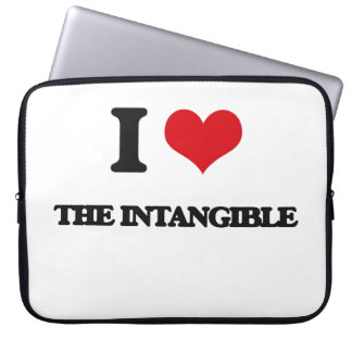 I Love The Intangible Laptop Sleeve