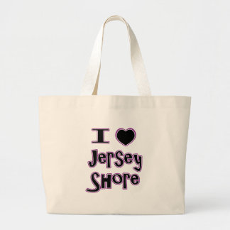 I love the jersey shore jumbo tote bag