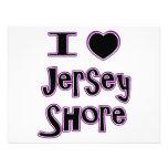 I love the jersey shore personalized invites