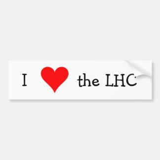 I love the LHC Bumper Sticker