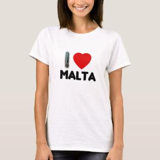 I Love the Malta Phallus T-Shirt
