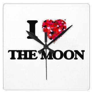 I love The Moon Wallclock