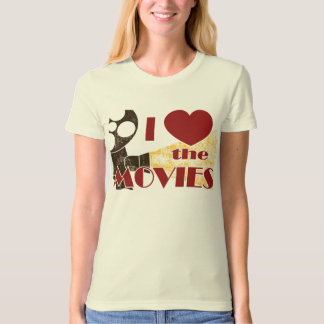I Love the Movies T-Shirt