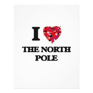 I love The North Pole 21.5 Cm X 28 Cm Flyer