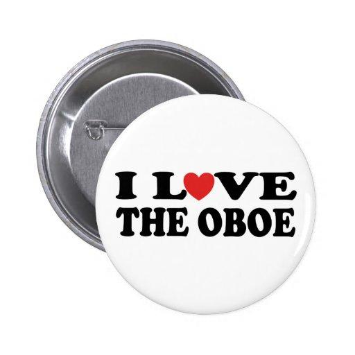 I Love The Oboe Button