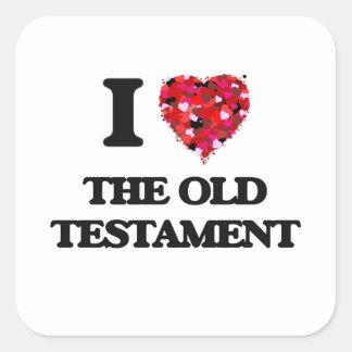 I love The Old Testament Square Sticker