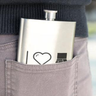 I Love The Organizer Flasks