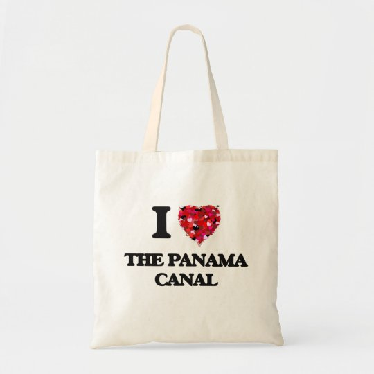 I love The Panama Canal Tote Bag