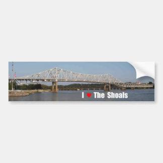 I Love The Shoals Bumper Sticker