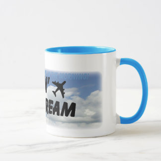 I love the smell of jet fuel in the morning! mug