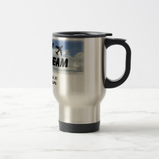 I Love The Smell Of Jet Fuel In The Morning! Stainless Steel Travel Mug