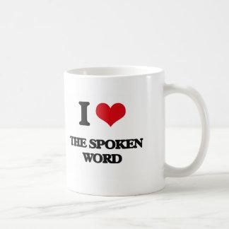 I love The Spoken Word Classic White Coffee Mug