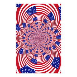 I Love The United States Personalised Stationery