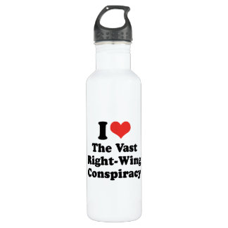 I LOVE THE VAST RIGHT WING CONSPIRACY - .png 710 Ml Water Bottle