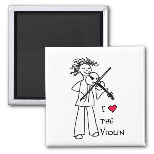 I Love The Violin Magnet for the Violin Site Store
