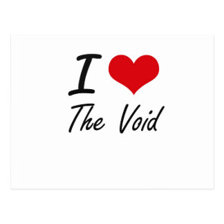 I love The Void Postcard