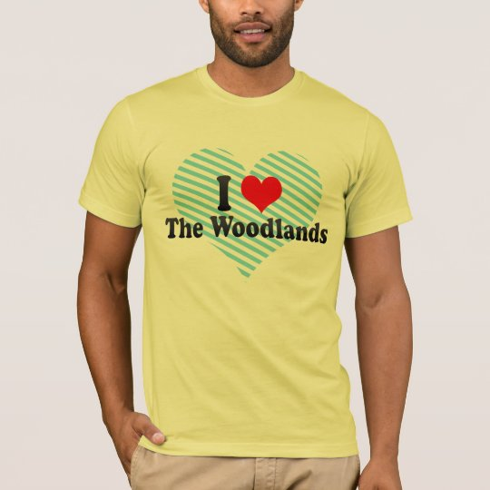 I Love The Woodlands, United States T-Shirt