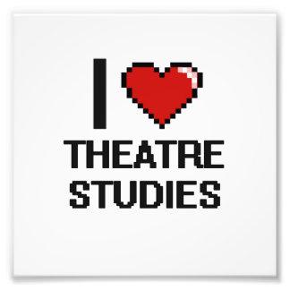 I Love Theatre Studies Digital Design Art Photo