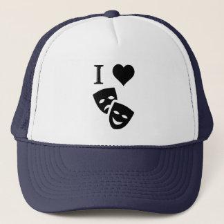 I Love Theatre Trucker Hat