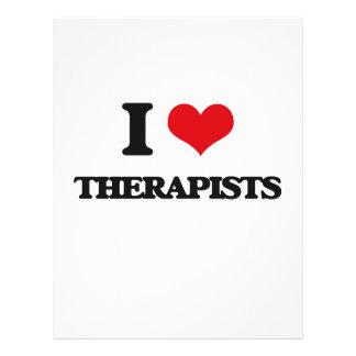 I love Therapists Custom Flyer