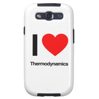 i love thermodynamics samsung galaxy SIII case