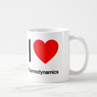 i love thermodynamics coffee mugs