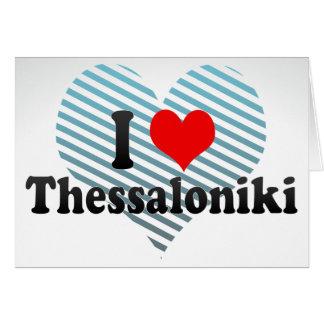 I Love Thessaloniki, Greece Cards
