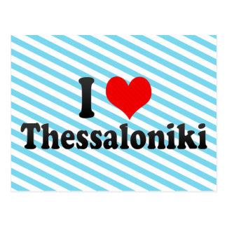I Love Thessaloniki, Greece Postcard