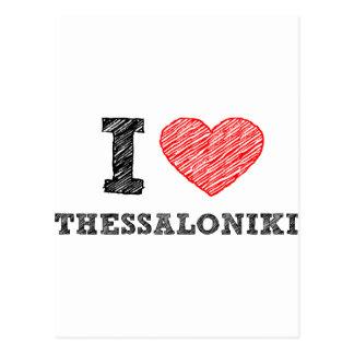 I love Thessaloniki Postcard