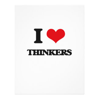 "I love Thinkers 8.5"" X 11"" Flyer"