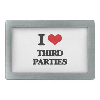 I love Third Parties Belt Buckles