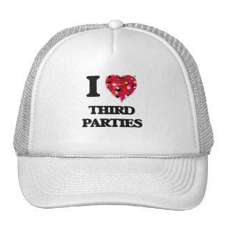 I love Third Parties Cap