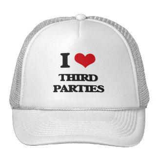 I love Third Parties Trucker Hat