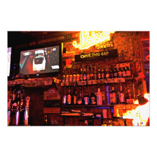 I Love This Bar Print Medium Photographic Print