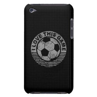 I love this game - soccer / football grunge iPod touch Case-Mate case