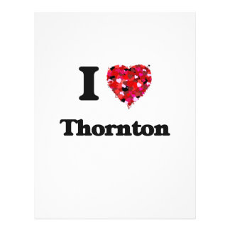 I love Thornton Colorado 21.5 Cm X 28 Cm Flyer