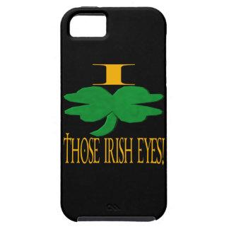 I Love Those Irish Eyes Tough iPhone 5 Case
