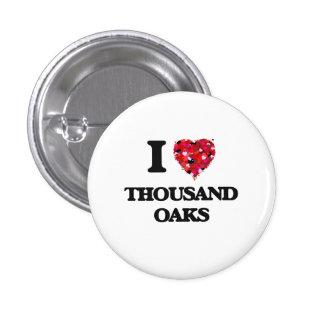 I love Thousand Oaks California 3 Cm Round Badge
