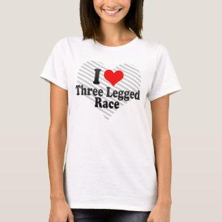 I love Three Legged Race T-Shirt