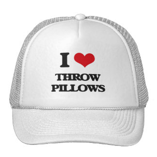 I love Throw Pillows Cap
