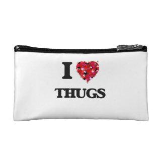 I love Thugs Cosmetics Bags