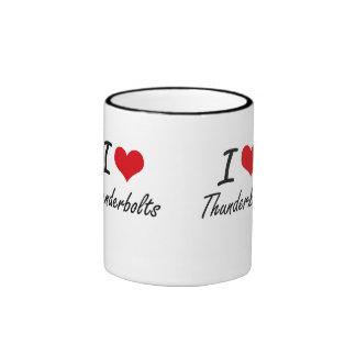 I love Thunderbolts Ringer Mug