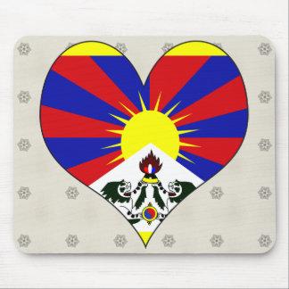 I Love Tibet Mousepad