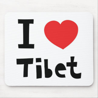 I love Tibet Mouse Pad
