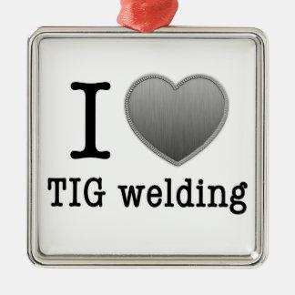 I love TIG welding Christmas Ornament