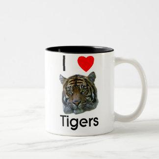 I love tigers Mug